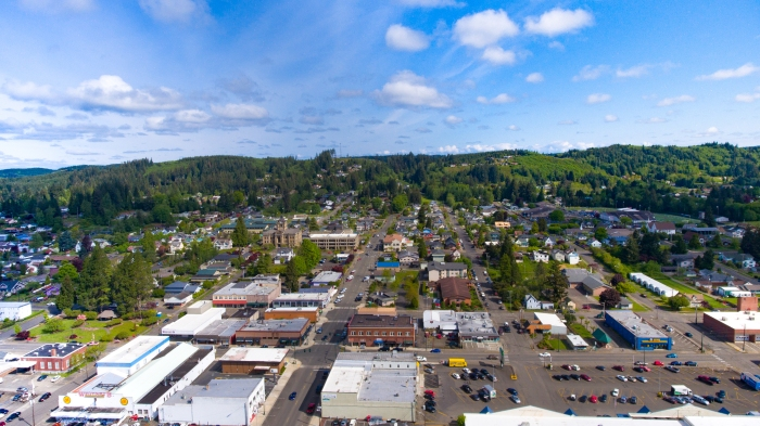 Montesano Wa looking North. (c) montesanotoday.com